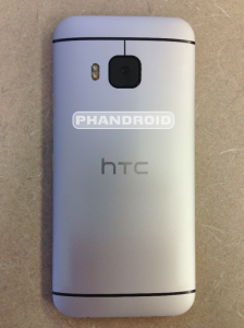 HTC One M9 Back - Leaked Image